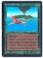 Magic the Gathering Beta Single Birds of Paradise MARK POOLE SIGNED - MODERATE PLAY (MP)